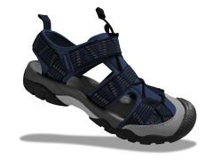 ORG Men's Outdoor Sandals - Navy