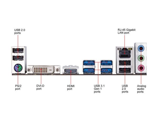Gigabyte B450m Ds3h Am4 Amd B450 Sata 6gb S Micro Atx Amd Motherboard