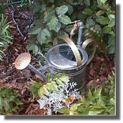English Style Watering Can Fountain