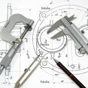 Measuring tools used for design, drafting, and manufacturing