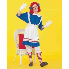 COSTUME-ADULT RAG DOLL GIRL 23501(F)