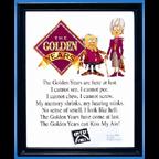 The Golden Years Plaque