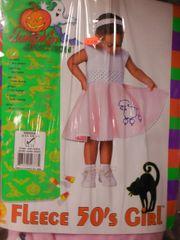 Fleece 50's Girl 2-4