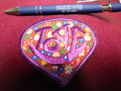 Flower power Love patch