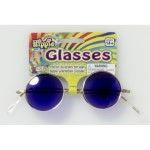 GLASSES-HIPPIE-BLUE LENSES - Item #69474