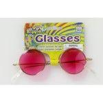 GLASSES-HIPPIE-PINK LENSES