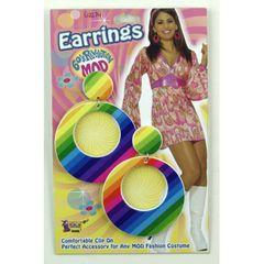 MOD RAINBOW EARRINGS - Item #62234 (F)