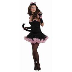 SOPHISTICAT PETTICOAT DRESS BLACK/PINK - Item #66343 (f)
