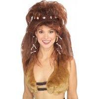 Cavewoman Wig With Headband Item# 51185 (R)