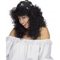 Pirate Queen Wig - Black Item# 51452