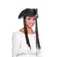 Pirate Hat With Braids Item# 49575 (R)