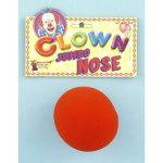 NOSE-CLOWN JUMBO FOAM RED 3 INCHES - Item #51542 (F)