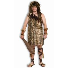 COSTUME-MACHO CAVEMAN-PLUS - #63356(f)