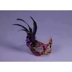 MASK-PURPLE W/EYEGLASS FRAME - 73644(F)