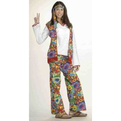 COSTUME-HIPPIE DIPPIE CHIC - Item #53225(F)