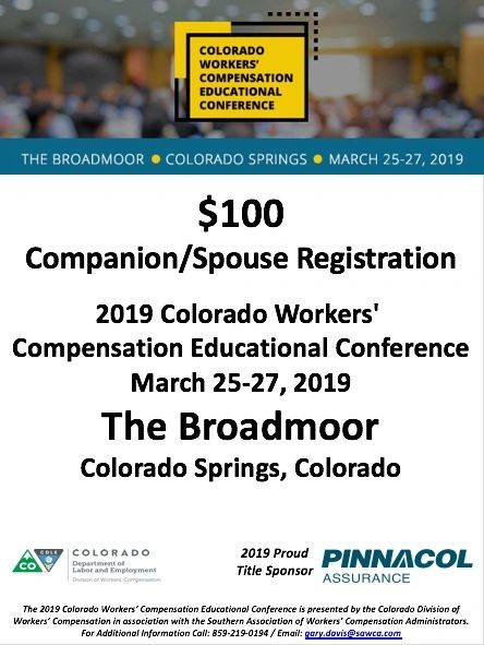 2019 Colorado CWCEC Companion
