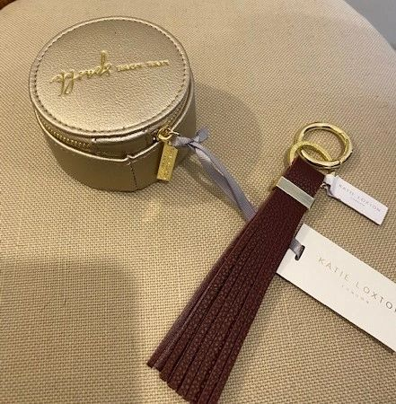 Katie Loxton - Travel Jewellery Box - Gold