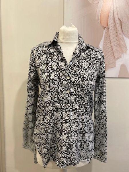 At Last Black & White Soho Shirt
