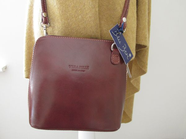 Italian Leather Shoulder Bag - L32