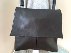 Italian Crossbody Bag - Black L80