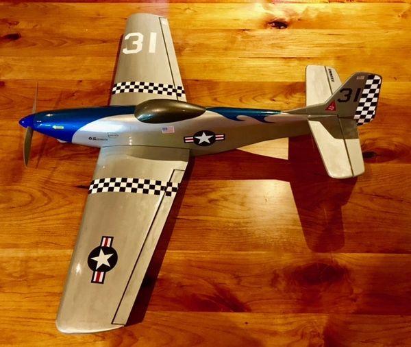 Custom P-51 Speed Plane