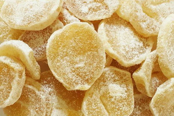 Ginger, Crystallized Slices