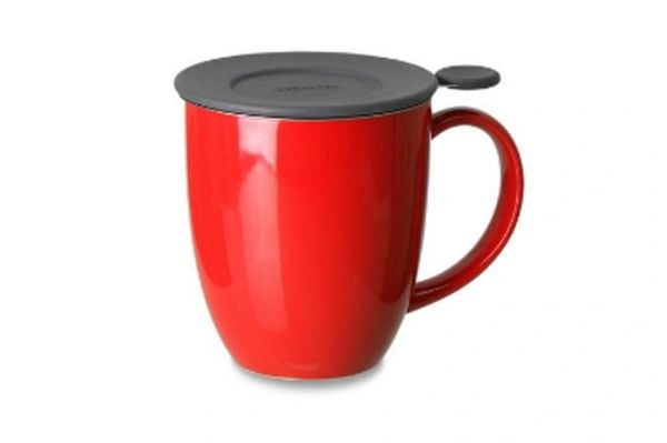 Mug with infuser & lid