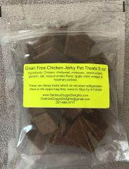 Grain Free Chicken Jerky- 4 oz