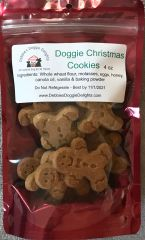 Doggie Christmas Cookies - 4 oz