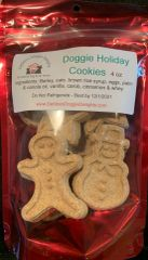 Doggie Holiday Cookies - 4 oz