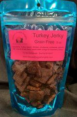 Grain Free Turkey Jerky- 5 oz