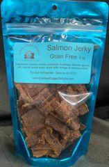 Grain Free Salmon Jerky- 5 oz
