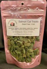 Salmon Cat Treats - 4 oz