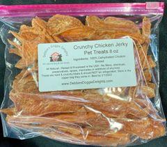Chicken Jerky Treats - Crunchy - 8 oz