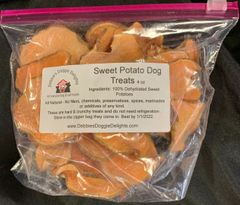 Sweet Potato Dog Treats - 8 ounces