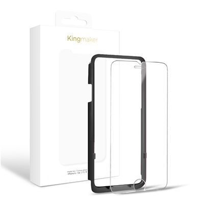 iPhone 6 / 6S / 7 / 8 - Kingmaker Tempered Glass