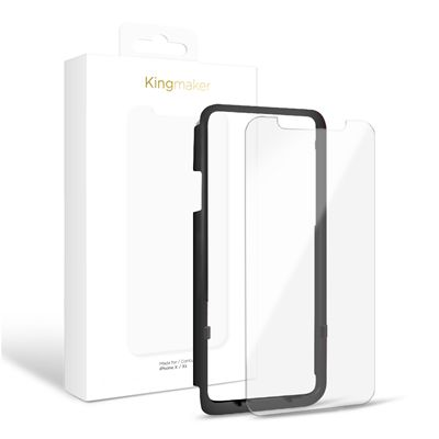 iPhone X / XS - Kingmaker Tempered Glass
