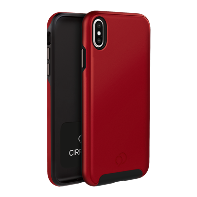 iPhone Xs Max - Cirrus 2 Case Crimson