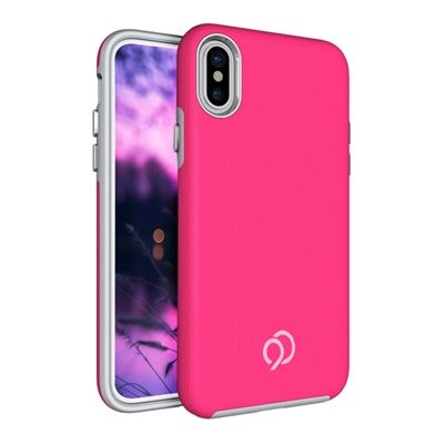 iPhone Xs / X - Latitude Case Pink