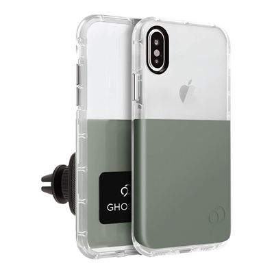 iPhone Xs / X - Ghost 2 Case Olive Gray