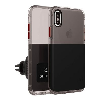 iPhone Xs / X - Ghost 2 Case Black