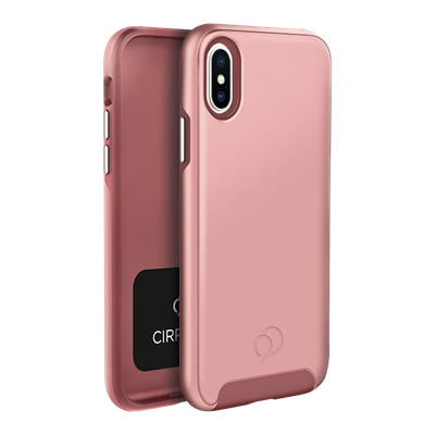 iPhone Xs / X - Cirrus 2 Case Rose Gold