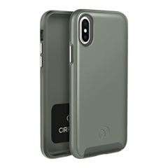 iPhone Xs / X - Cirrus 2 Case Olive Gray