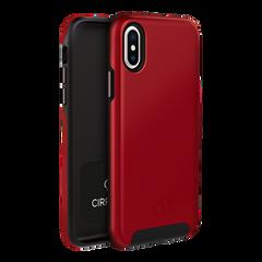 iPhone Xs / X - Cirrus 2 Case Crimson