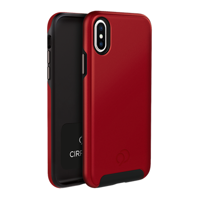 iPhone Xs / X - Cirrus 2 Case Crimson