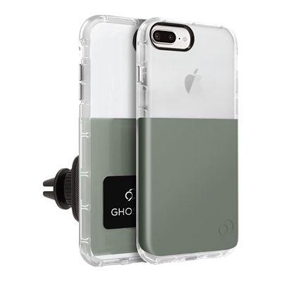 iPhone 8 Plus / 7 Plus / 6s Plus / 6 Plus - Ghost 2 Case Olive Gray