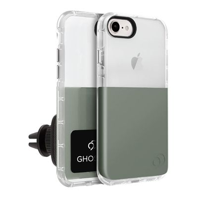 iPhone 8 / 7 / 6s / 6 - Ghost 2 Case Olive Gray