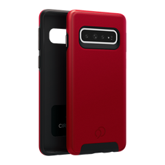 Galaxy S10 - Cirrus 2 Case Crimson