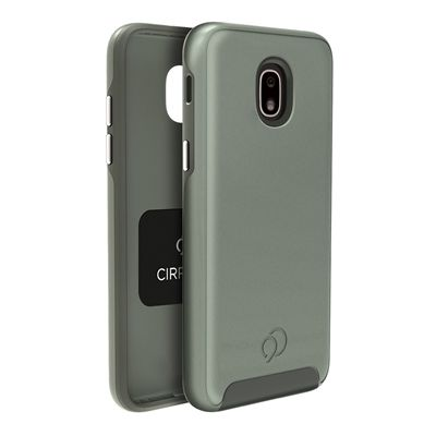 Galaxy J7 (2018) / J7 V 2nd / J7 Refine - Cirrus 2 Case Olive Gray