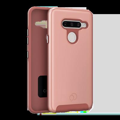 LG V40 ThinQ - Cirrus 2 Case Rose Gold